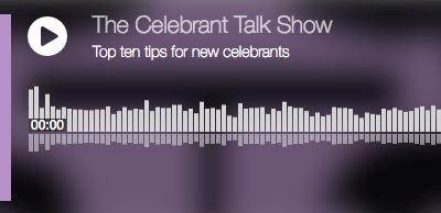 The Celebrant Talk Show: episode 6