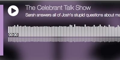 The Celebrant Talk Show: episode 7