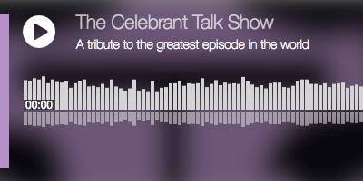 The Celebrant Talk Show: I've watched celebrants read a newspaper
