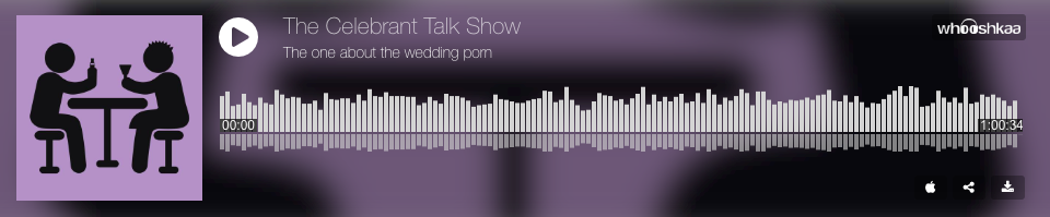 The Celebrant Talk Show: The one about the wedding porn